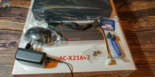 Видеорегистратор ActiveCam AC-X204 v2