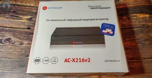 Видеорегистратор 4 канальный ActiveCam AC-X204 v2